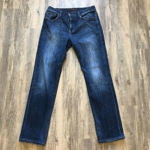 Joe's Jeans The Brixton Fit Slim Fit Blue Jean